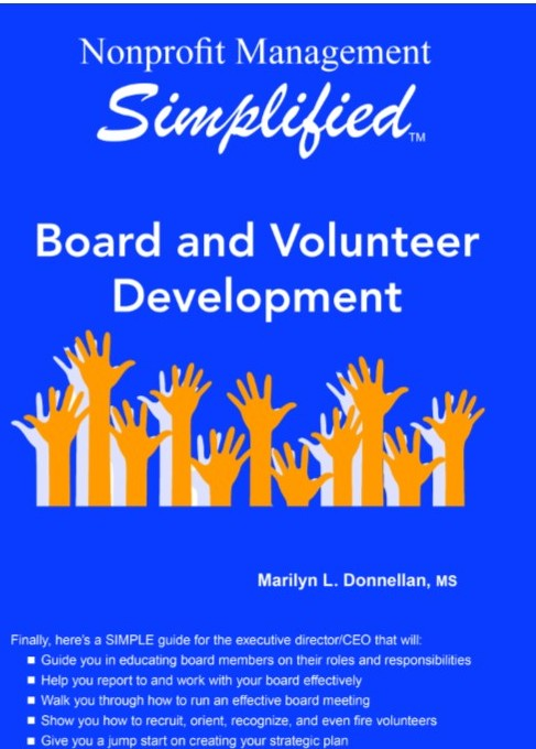 Nonprofit Management Simplified Board And Volunteer